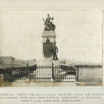 Photograph of the 1916 Memorial on Sarsfield Bridge