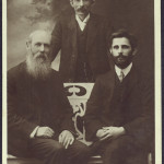 Group portrait of John Daly, Thomas Clarke and Seán MacDiarmada