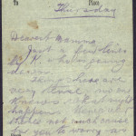 20 April 1916: Edward Daly's last letter to his mother - 2