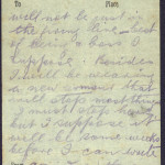 20 April 1916: Edward Daly's last letter to his mother - 3