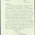 11 May 1916: Letter from Seán MacDiarmada to John Daly written the night before his execution - 2