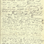 Letter from Maud Gonne to Thomas Clarke re: release of Irish prisoners - 2